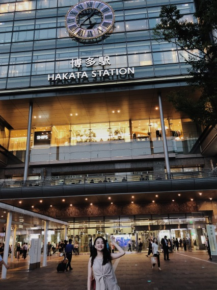 Hakata Station, connecting everything (malls included)